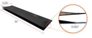 Trailing Edge Control Surface Measurments